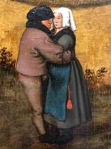 Cassel expo temps des Brueghel scène danse