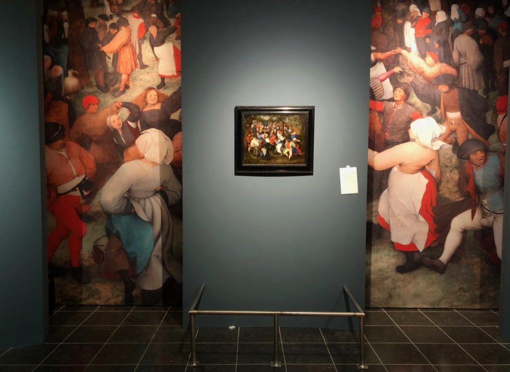 Cassel expo temps des Brueghel tableau et entourage
