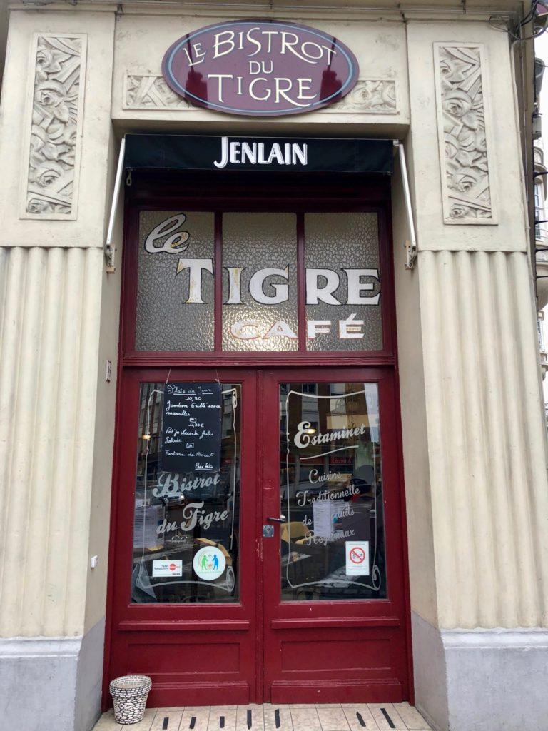 Douai Bistrot du Tigre porte
