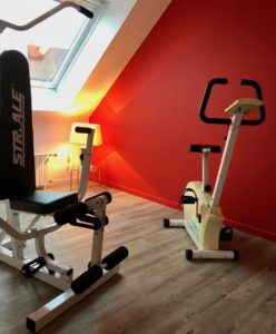 Douai La Terrasse suite Marcelline fitness