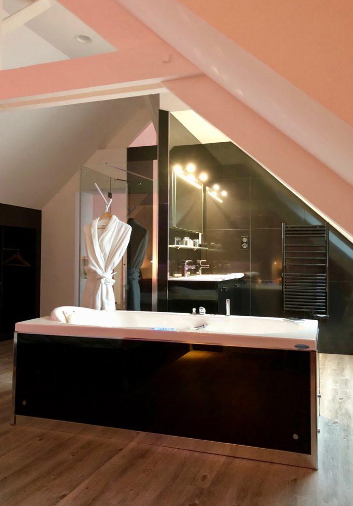 Douai La Terrasse suite Marcelline salle bain