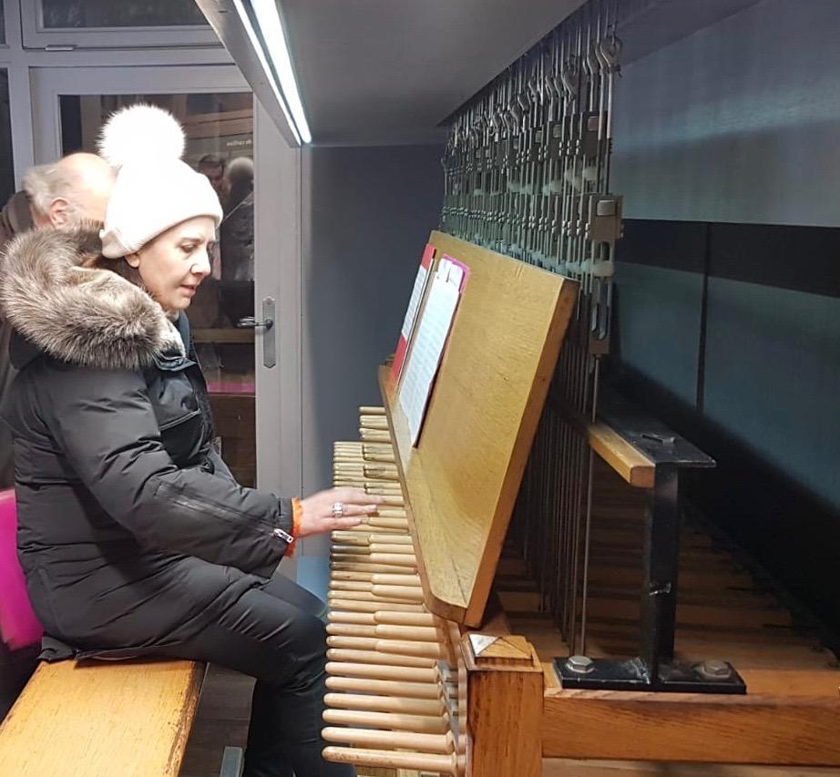 Douai beffroi Anne clavier carillon