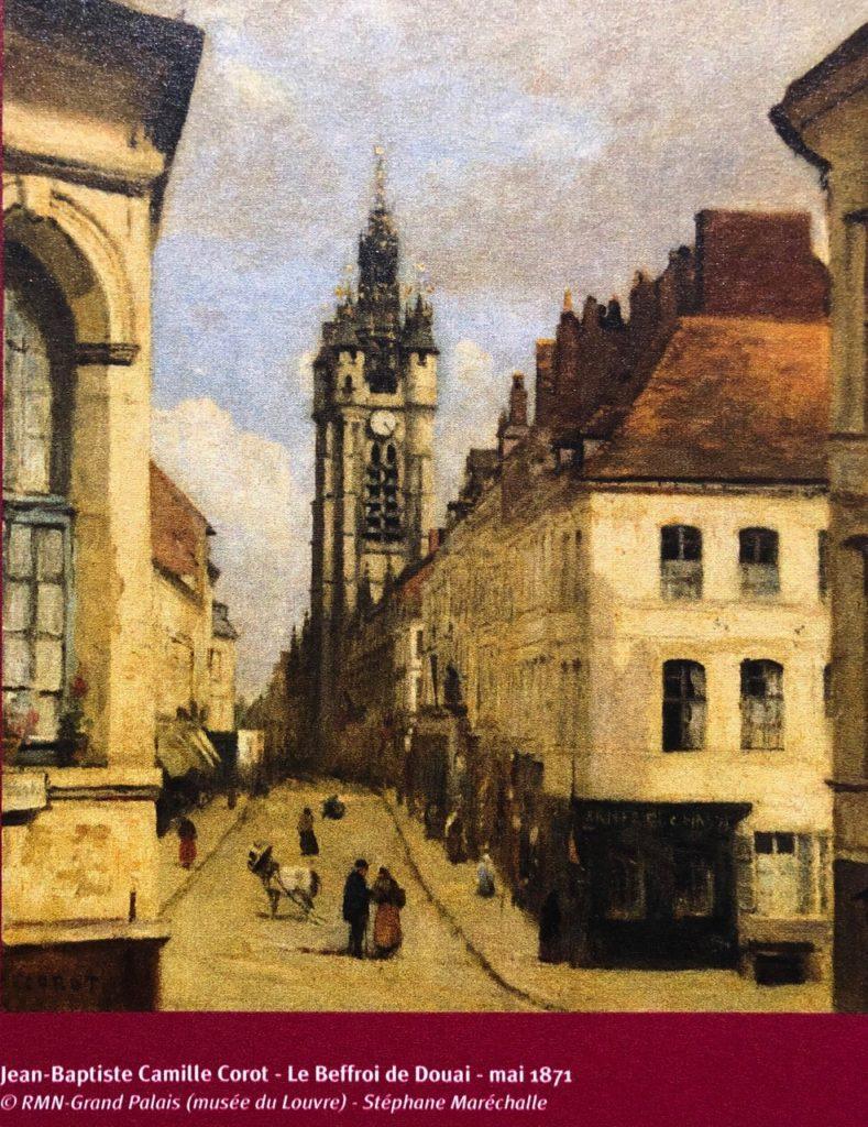 Douai beffroi Camille Corot