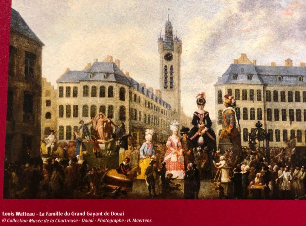 Douai beffroi Louis Watteau