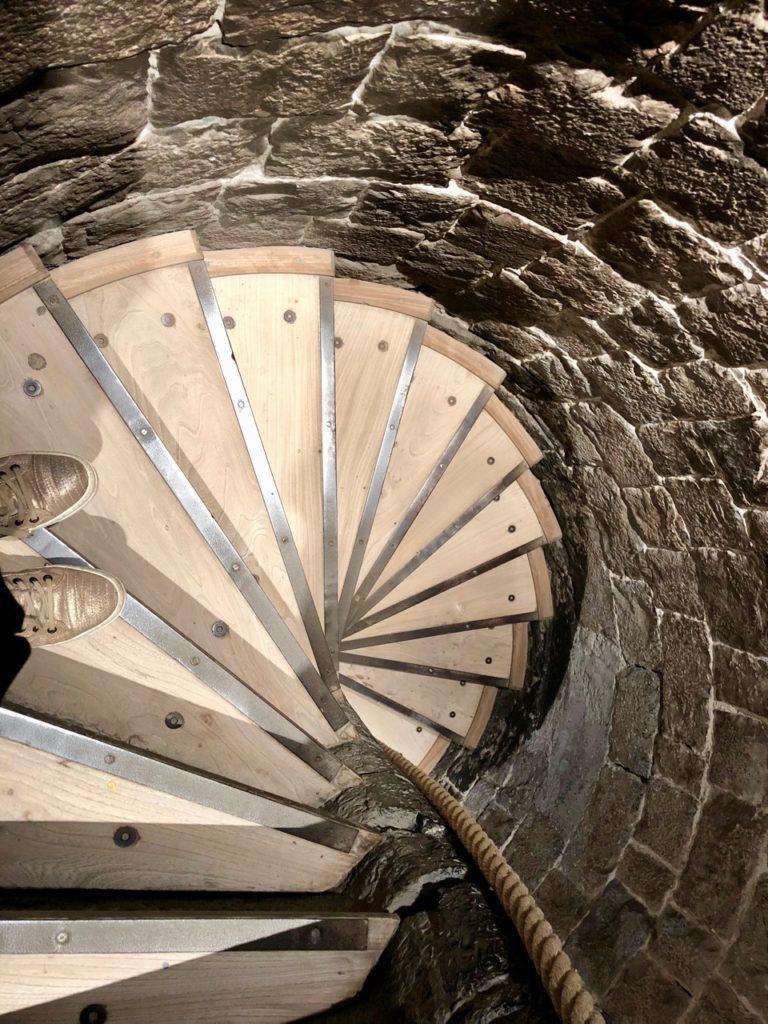 Douai beffroi escalier