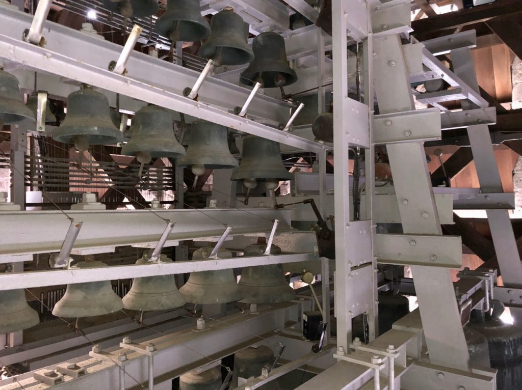 Douai beffroi le carillon