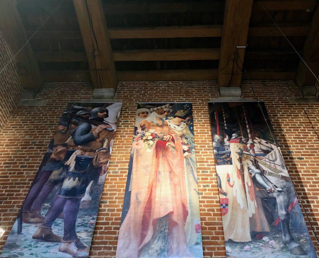 Douai beffroi peintures salle garde