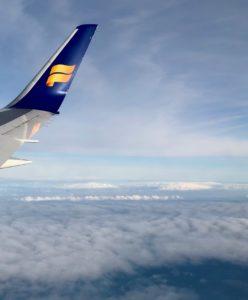 Icelandair avion ciel
