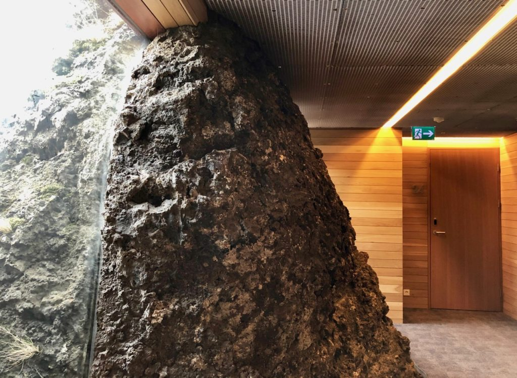 Islande Blue Lagoon Silica Hotel couloir