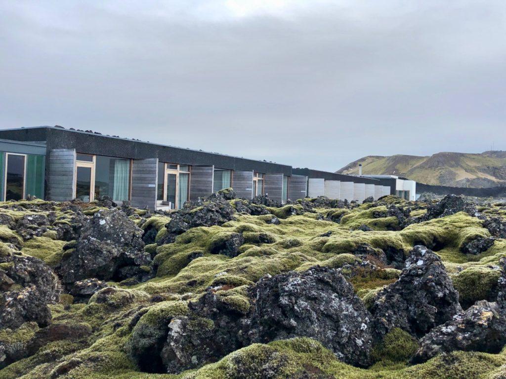 Islande Blue Lagoon Silica Hotel extérieur