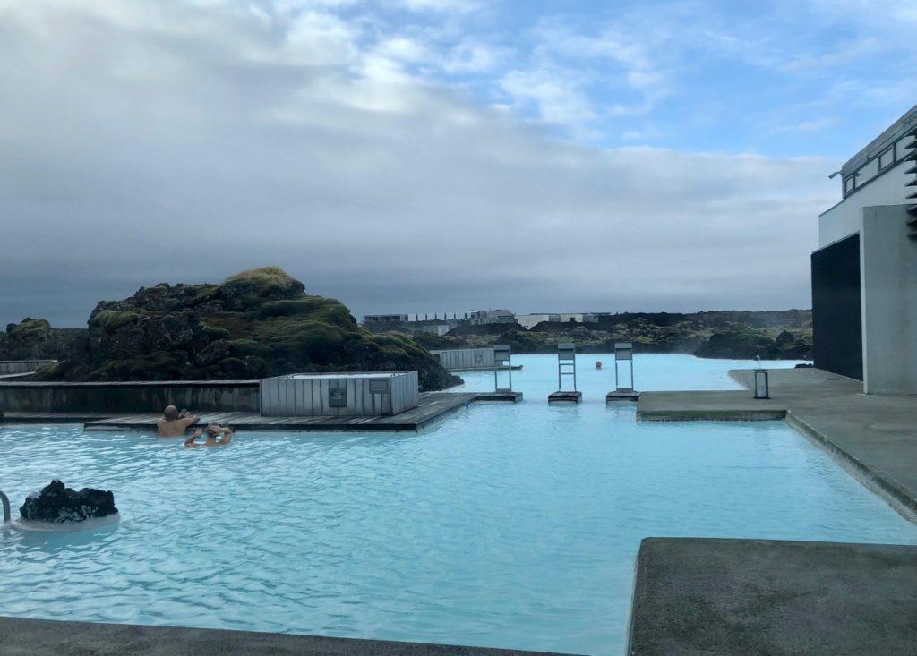 Islande Blue Lagoon Silica Hotel lagon privé