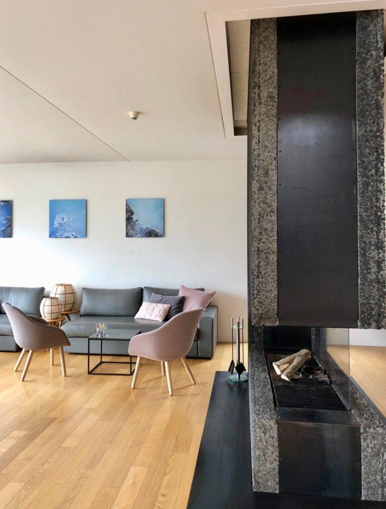 Islande Blue Lagoon Silica Hotel salon