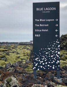 Islande Blue Lagoon Silica Hotel panneau