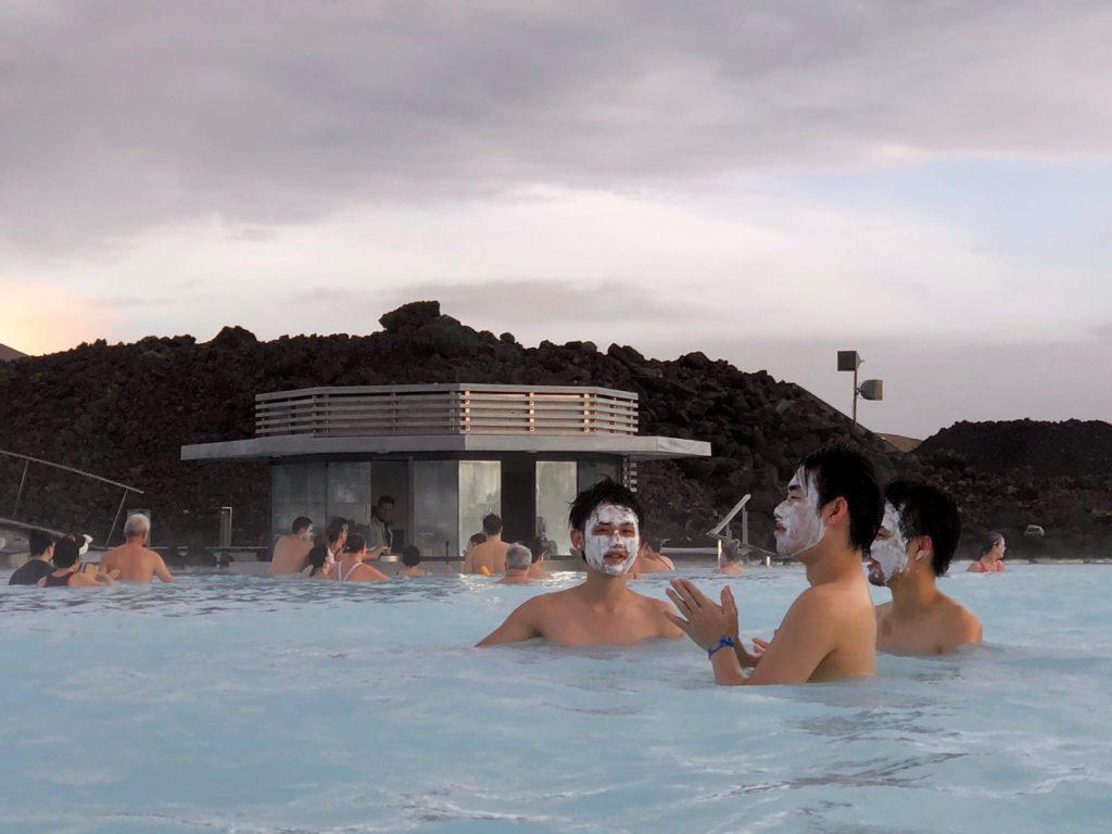 Islande Blue Lagoon masques