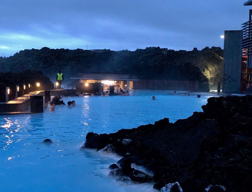 Islande Blue Lagoon nuit