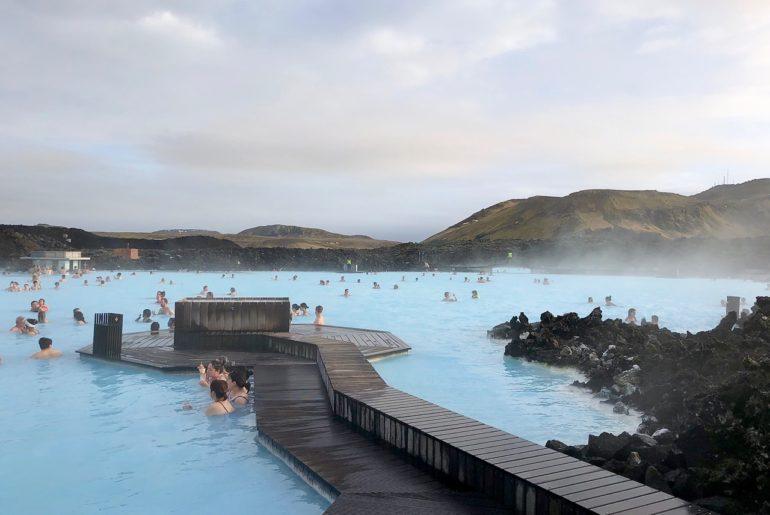 Islande Blue Lagoon vue bassin