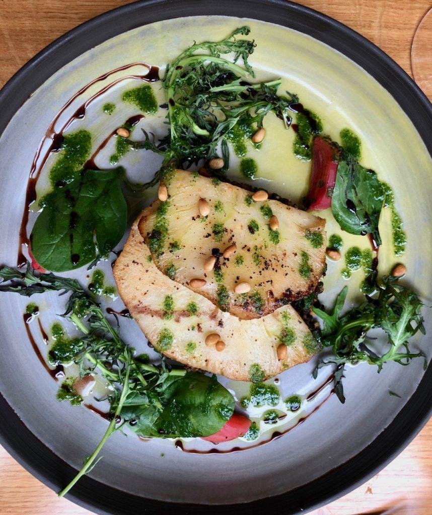 Lille Ripaille céleri rave roti salade lentilles noisettes