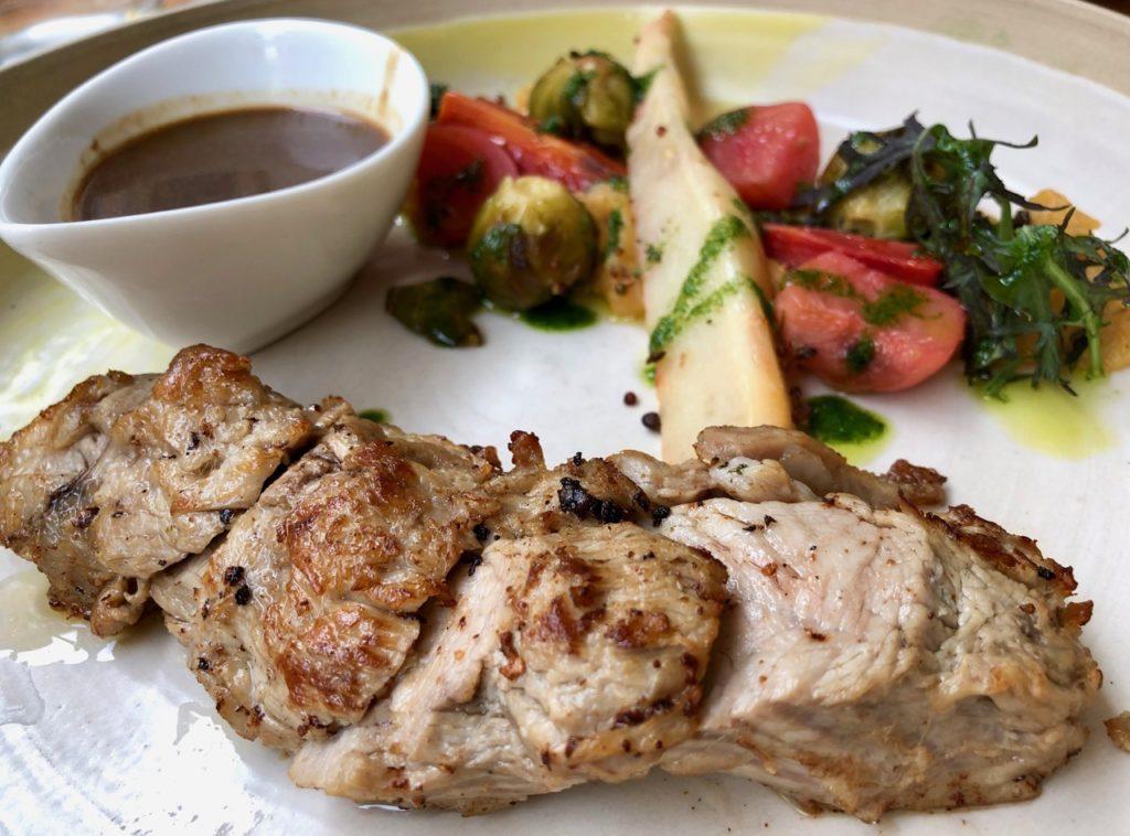 Lille Ripaille veau légumes glacés jus viande