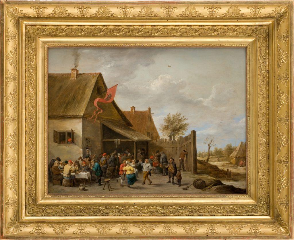 Montpellier musée Fabre David Teniers le Jeune Kermesse de la saint Geroges