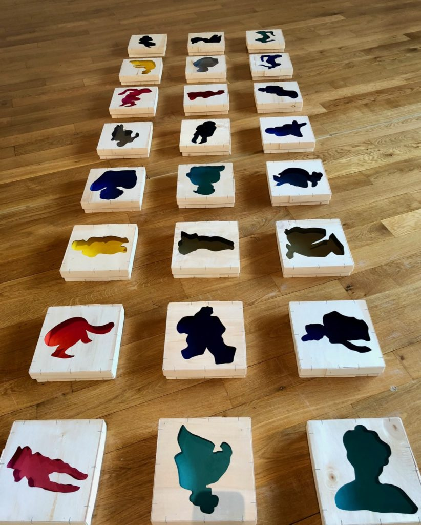 Musee Matisse - Alexandra Madec Cut Out boxes
