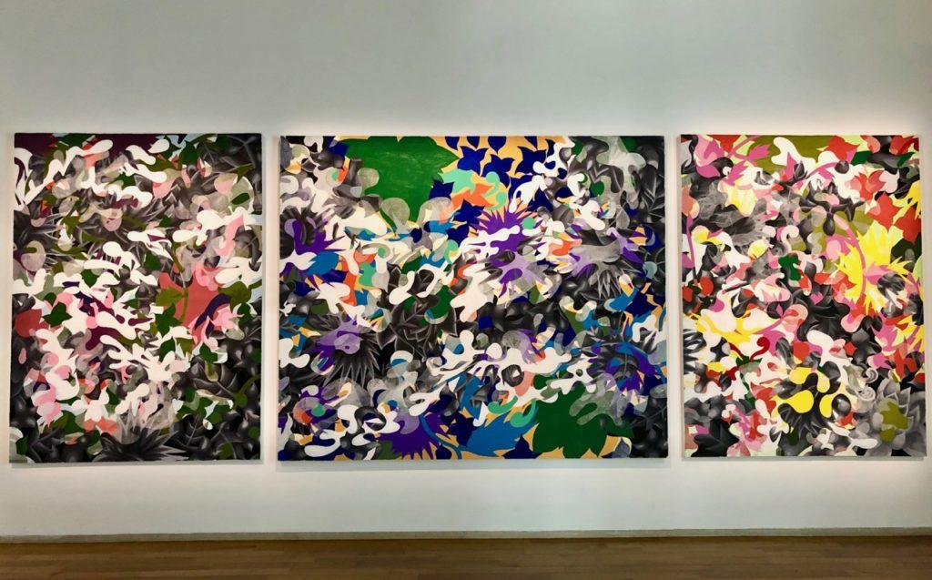 Musee Matisse - Antoine Watel Tryptique Kosmos deux