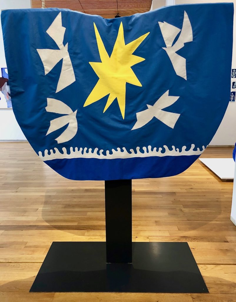 Musee Matisse - Eliane Poupart chasuble avant