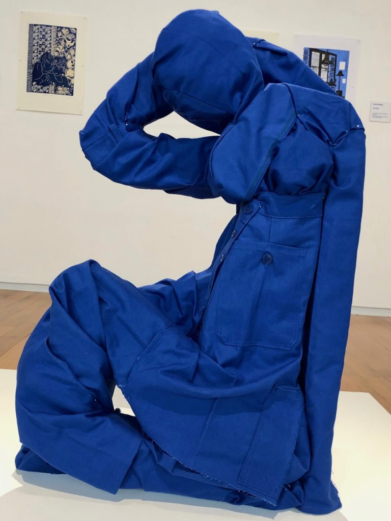 Musee Matisse - Elisa Masson Blue Work