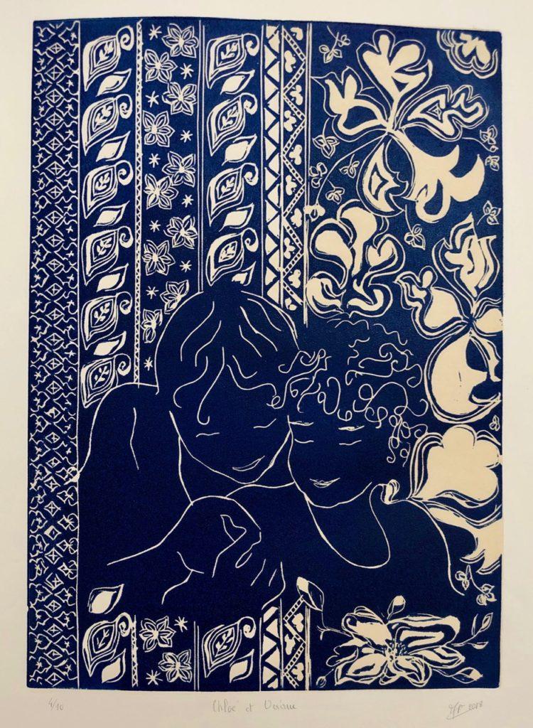 Musee Matisse - Marie-Francoise Carpentier Océane et Chloé