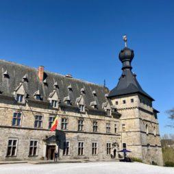 Belgique château chimay vue ensemble