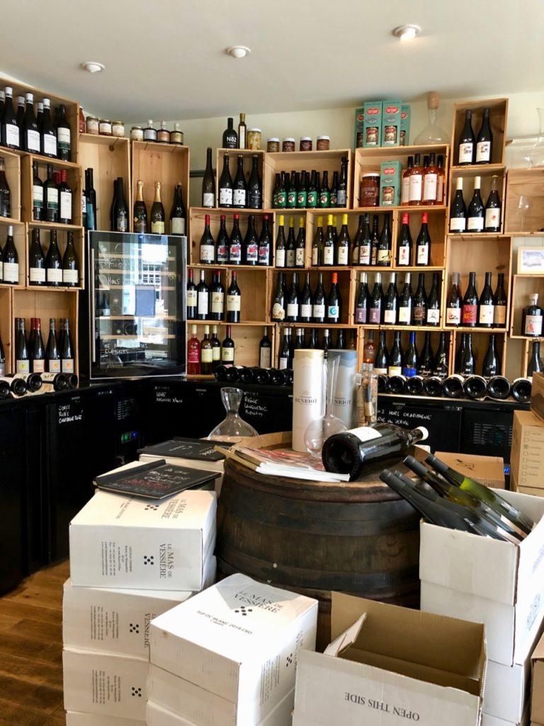 Etretat Bel Ami boutique vin