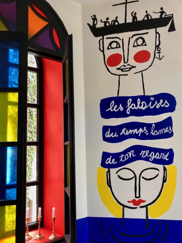 Etretat Le Donjon salle Castelbajac
