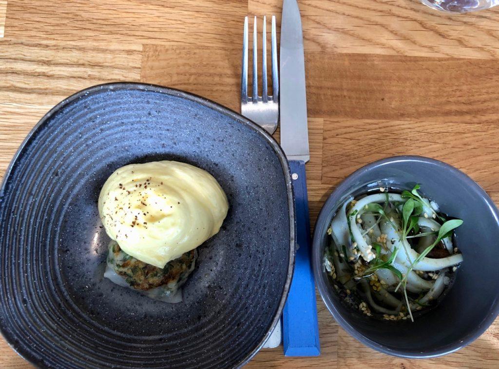 Etretat restaurant Bel Ami plat
