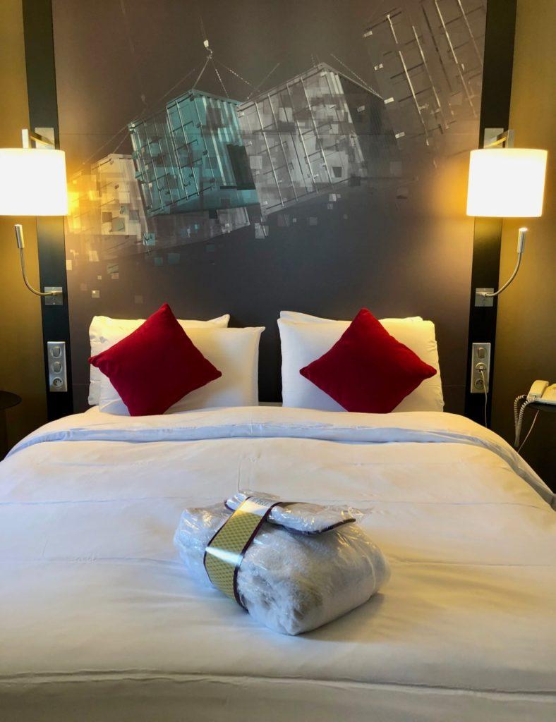Le Havre hotel Mercure chambre