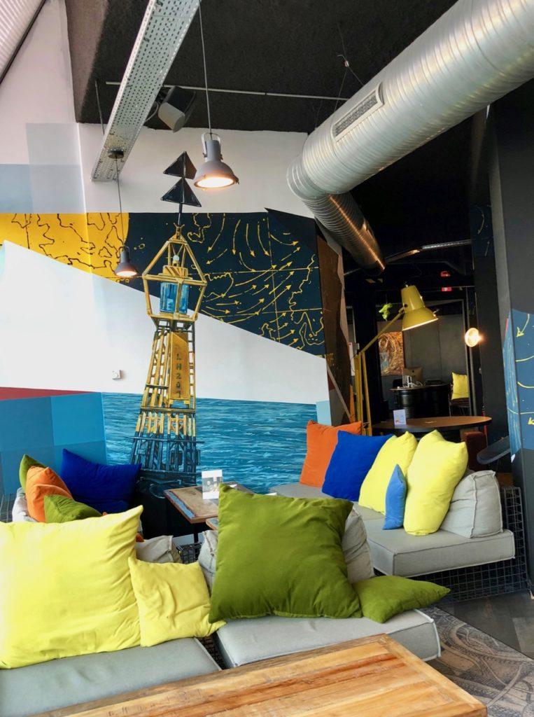 Le Havre hotel Mercure graff balise