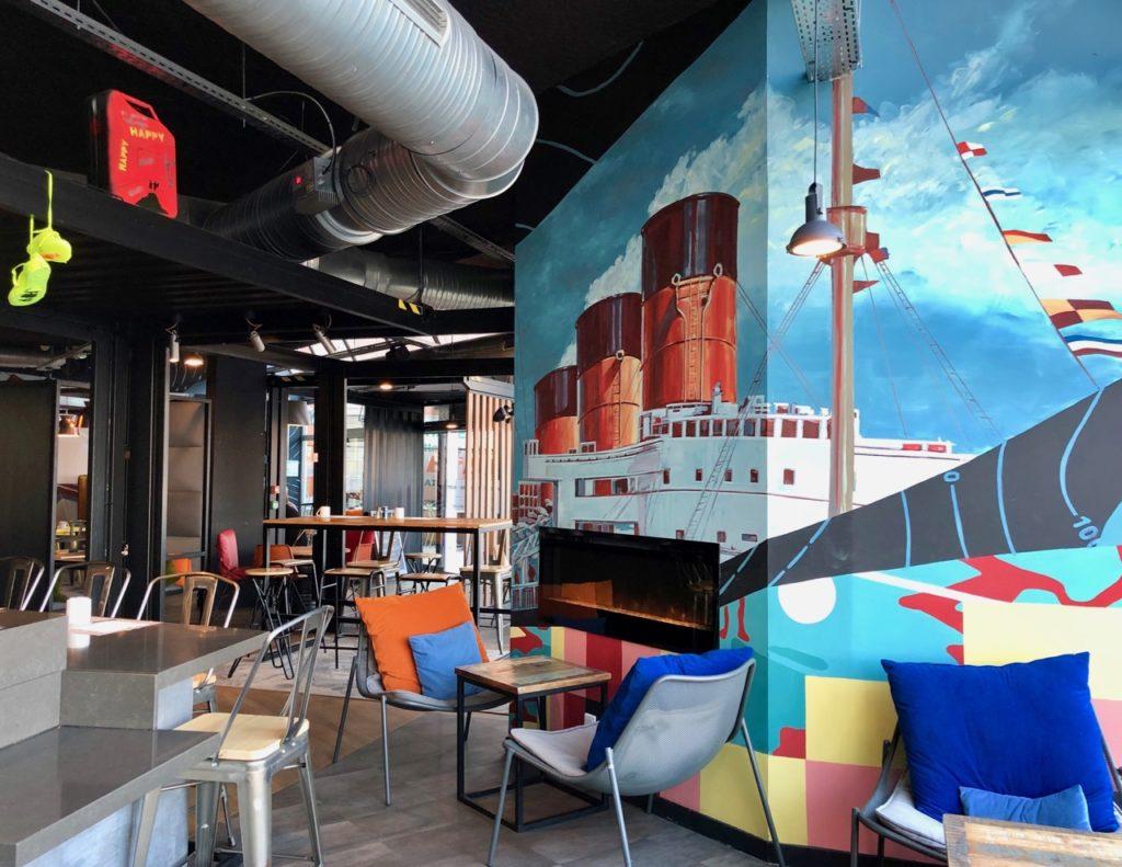 Le Havre hotel Mercure graff paquebot