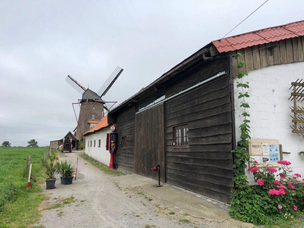 Moulin Steenmeulen Terdeghem entrée
