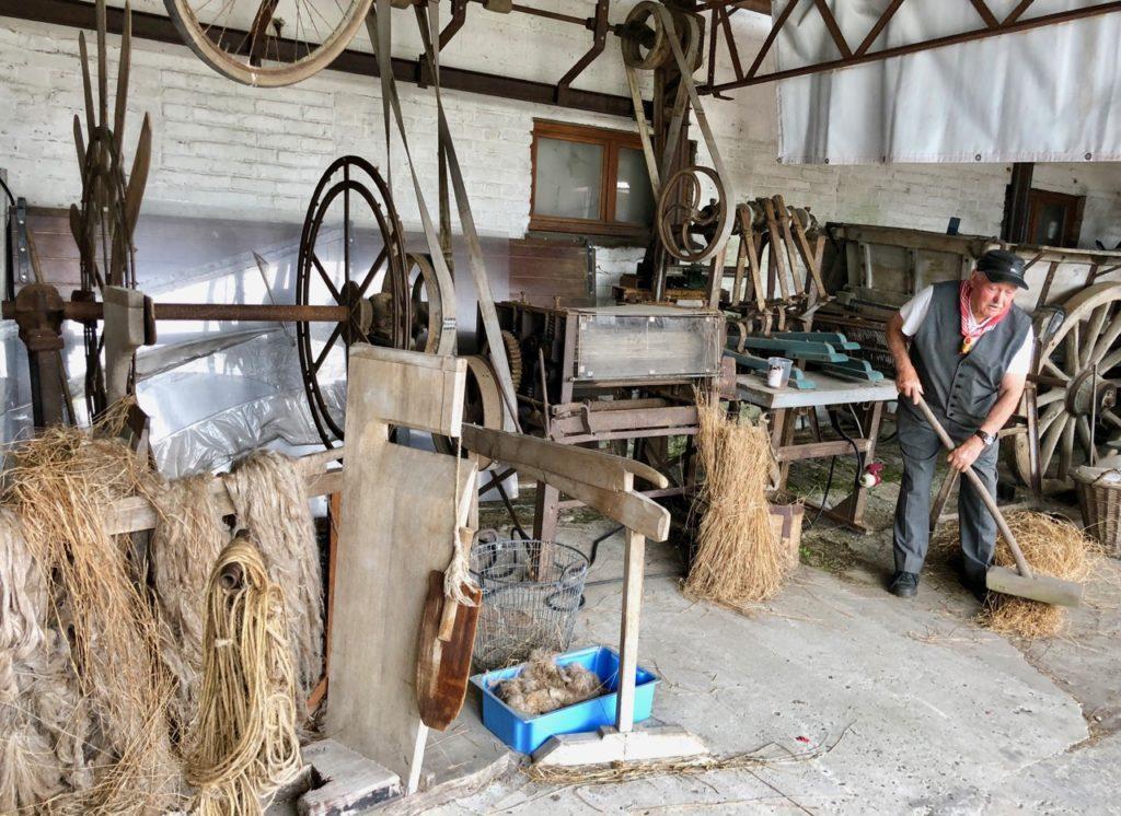 Moulin Steenmeulen Terdeghem musée machines agricoles