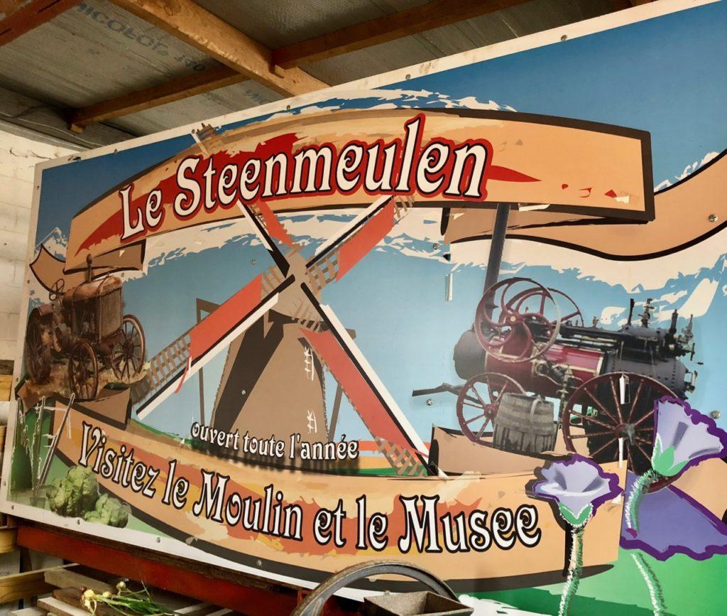 Moulin Steenmeulen Terdeghem panneau