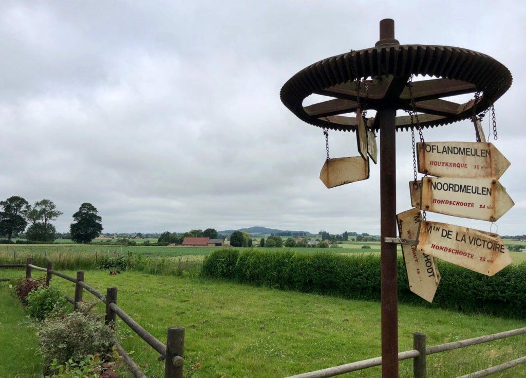 Moulin Steenmeulen Terdeghem roue panneaux
