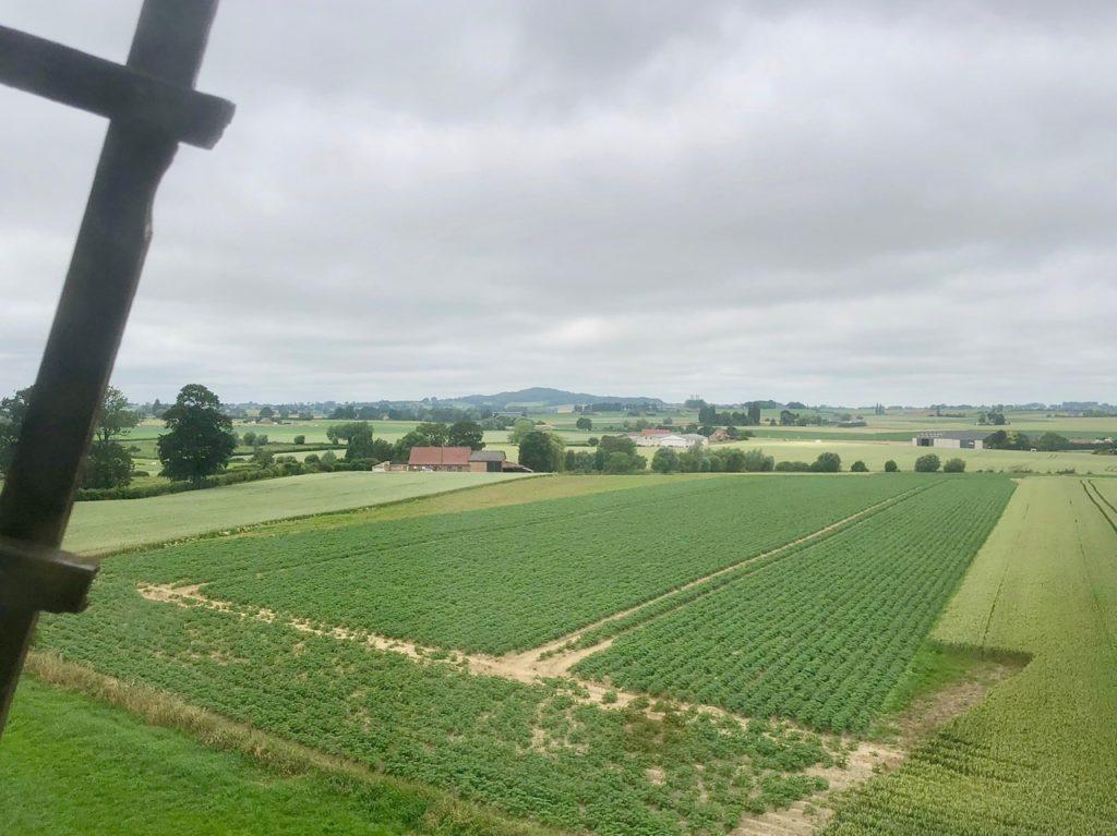 Moulin Steenmeulen Terdeghem vue plaine