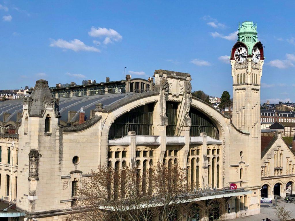 Rouen gare façade
