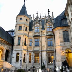 Rouen hotel Bourgtheroulde façade