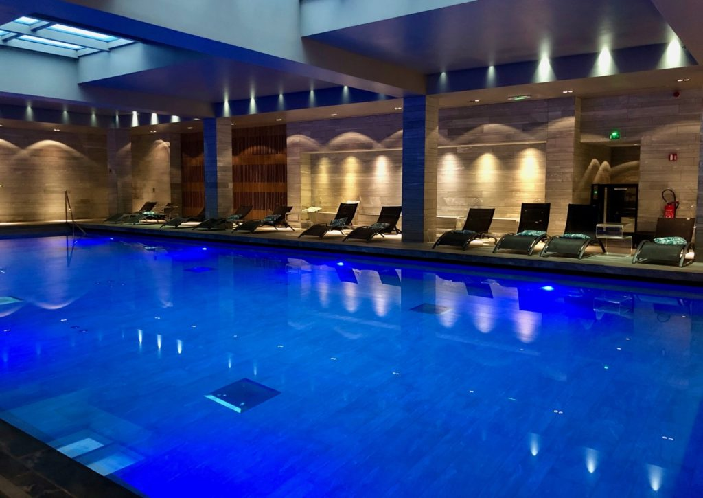 Rouen hotel Bourgtheroulde piscine
