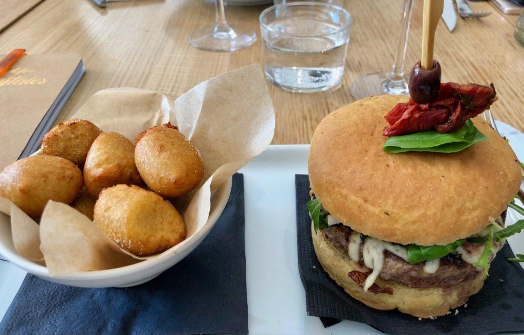 Rouen restaurant Pagani plat
