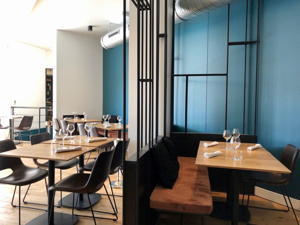 Rouen restaurant Pagani salle