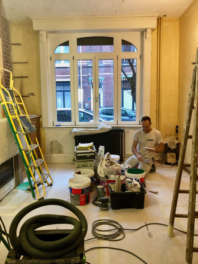 Salon gros chantier