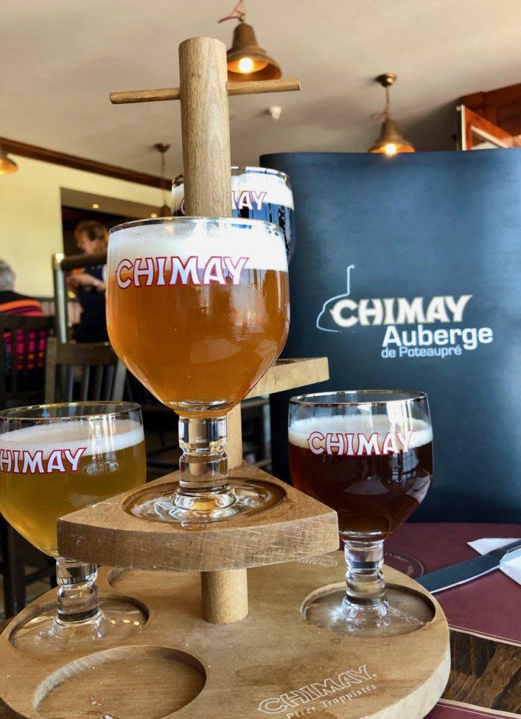 Belgique auberge Poteaupré dégustation bières