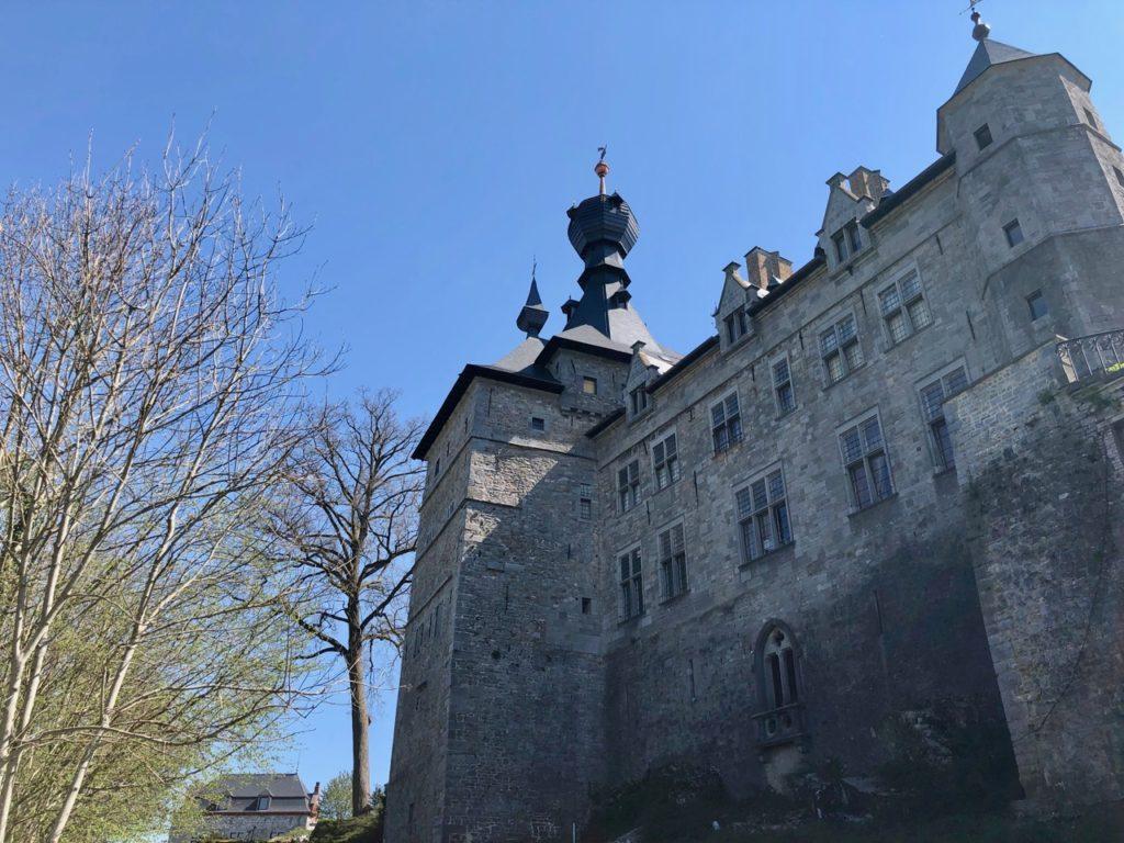 Belgique château Chimay extérieur