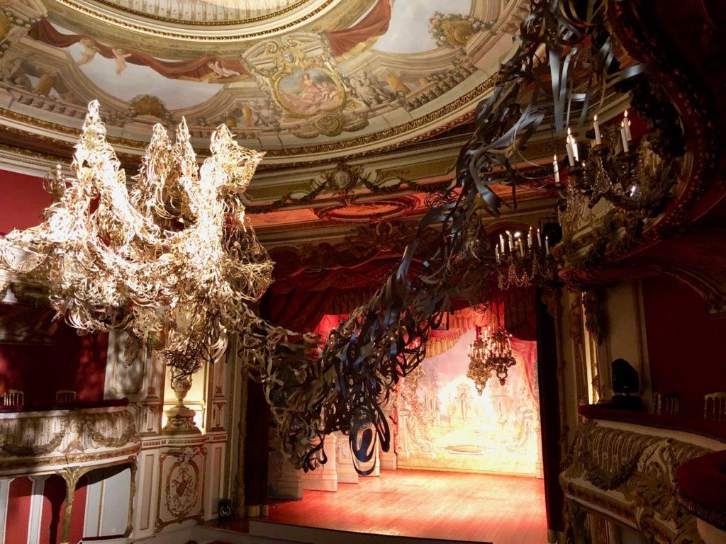 Belgique château Chimay théâtre