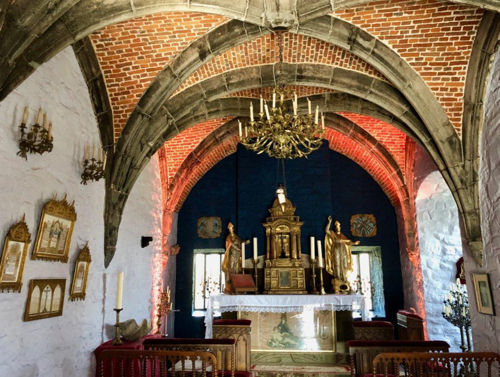 Belgique Château de Chimay chapelle